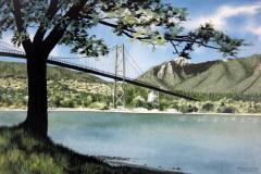 June - Lions Gate Bridge by Frank Townsley