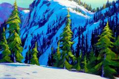 TatianaMirkov-Popovicki-Winter-Trail-Mt-Seymour-16x20-acrylic