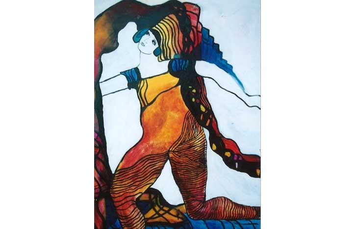 Woman by June Boe