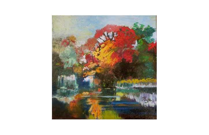 Fall at VanDusen by Page Samis