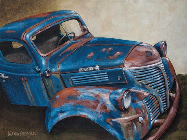 Kinda Blue by Warren Oneschuk