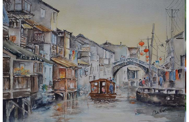 Venice of the East by Alice Bottrill