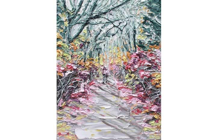 Walking II by Cath Hughes,