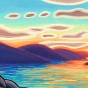 Island Sunset by Duane Murrin