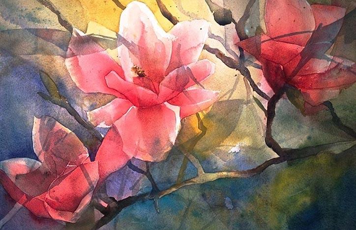 Magnolias by Janice Blore