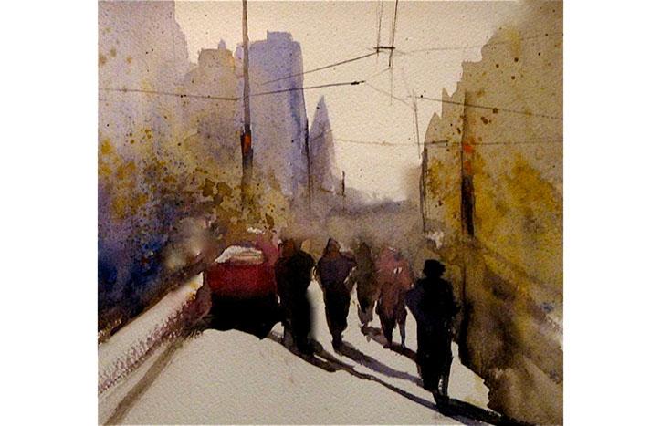 Howe Street by Janice Blore