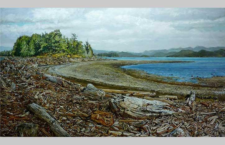 Beach Wash by Joe Cash