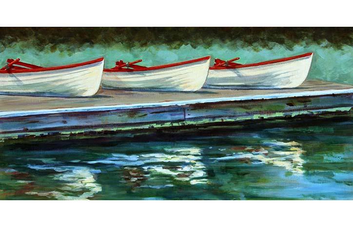Tyee Row by Linda Ramsden
