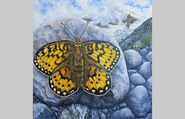 Btterfly effect by Margot Brassil