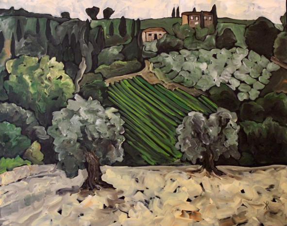 Montalcino by Kim Rosin