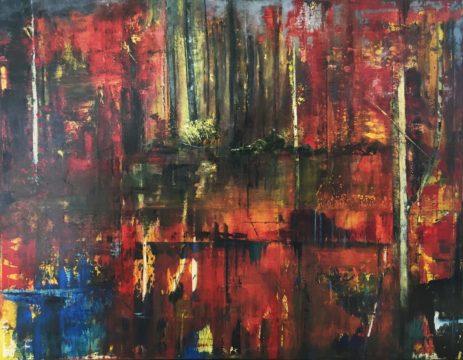 Red Grotto by Sue Daniel