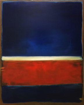 Rothko Tribute by Sue Daniel