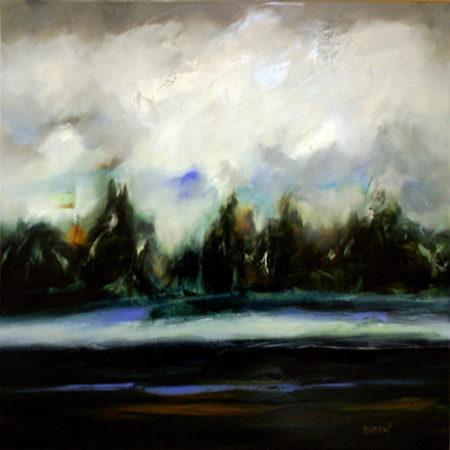 Whyte Lake by Carole Arnston