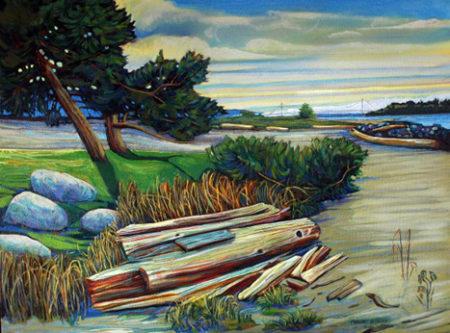 Ambleside Pines by Margaret Heywood