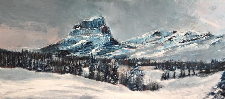 Mount Robson by Marthe Bijman