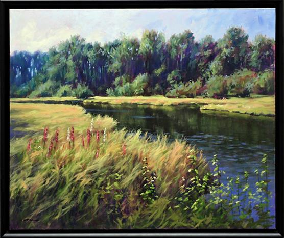 Lazy River by Bruce F. McAdam