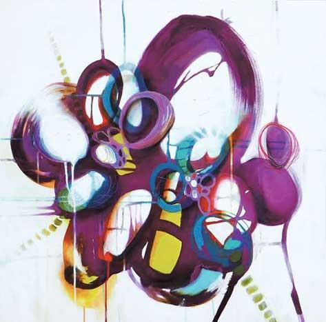 rogue wave by Melanie Ellery