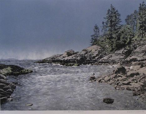 On Bowen Island by Elisabeth Sommerville