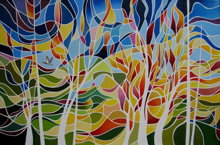 Spirit Trees by Ray James Bradbury