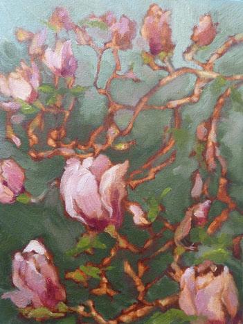 Magnolia Serena by Susanne Kestner-Aiello,