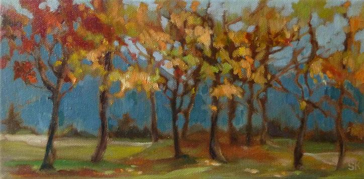 Mountain Blues by Susanne Kestner-Aiello