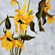 Shaggy Flowers by Roxsane Tiernan