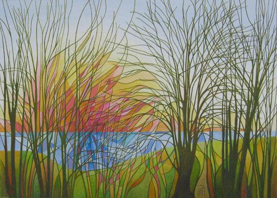 Winter Sunrise by Ray James Bradbury