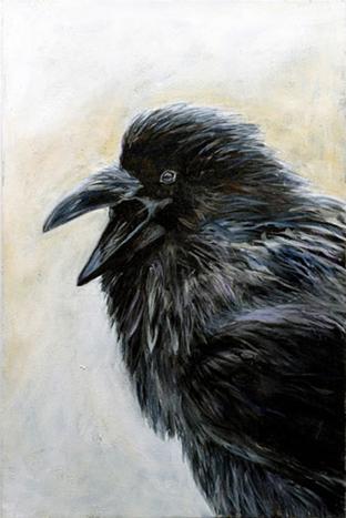 Raven 1 by Margaret Witzsche