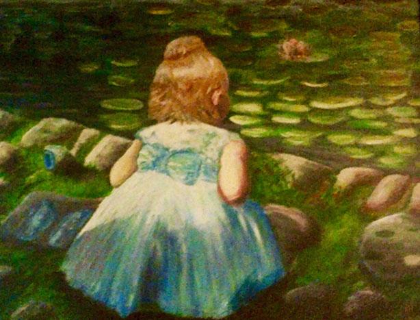 painting by Rhonda Hall