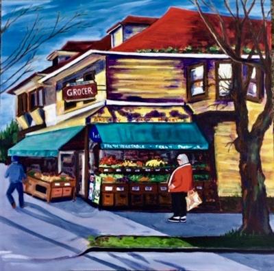 Corner Store by Toni Ludski