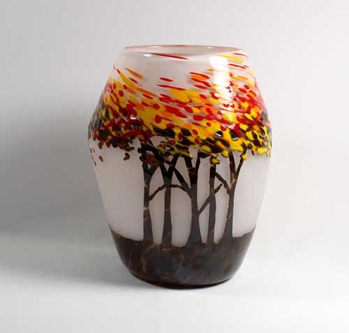 Autumn Trees by Guy Hollington