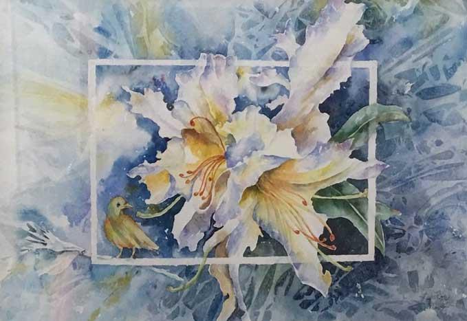 Lilium & the bird by Maryam Akhavan