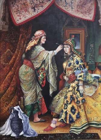 The Oriental Hairstylist by Maryam Akhavan