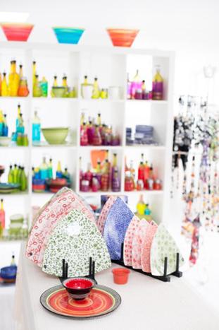 Gail Coney's glass studio & shop