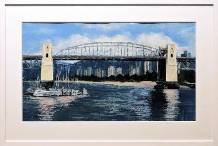 Burrard Bridge Late Summer by Deborah Bakos