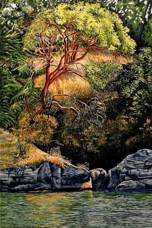 Pender Island #1 by Jan Crawford