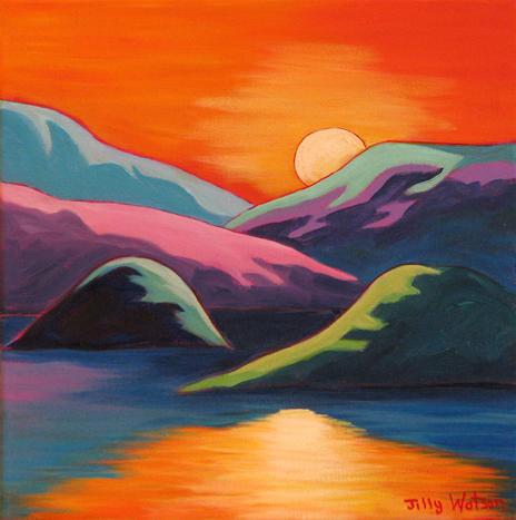 Moonlight Serenade by Jilly Watson
