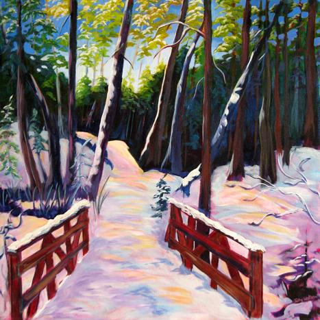 Rice Lake Trail by Jilly Watson