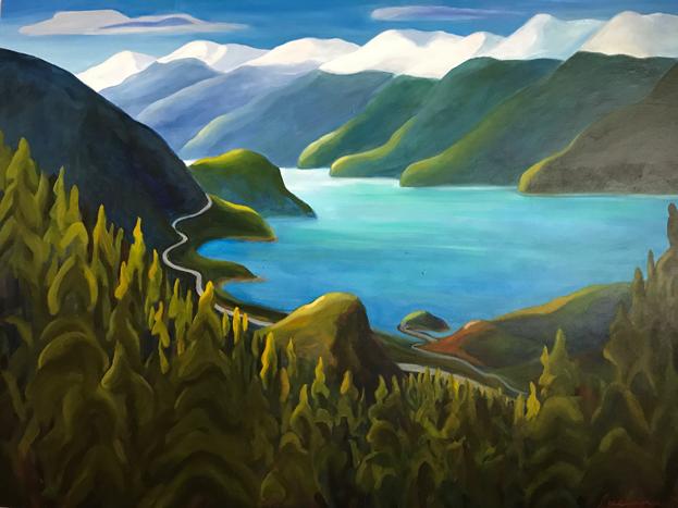 Howe Sound by Luciana Alvarez