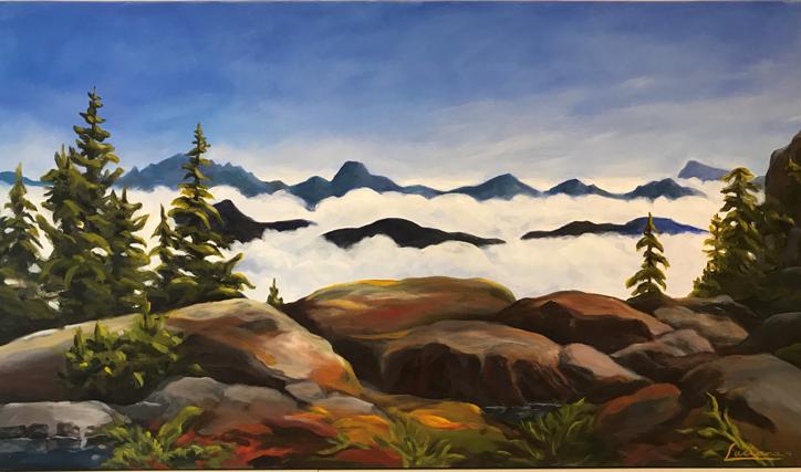 Seymour Mountain Hike by Luciana Alvarez