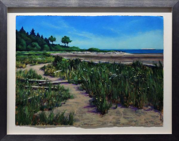 Low Tide David Bay by Bruce F McAdam