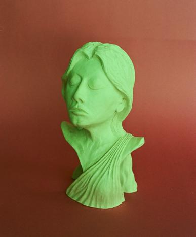 Deco Roman Lady by Neill Lyons