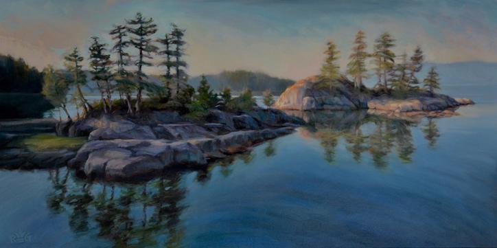 Morning Calm, Quarry Bay by Rhonda LeGrove Garton
