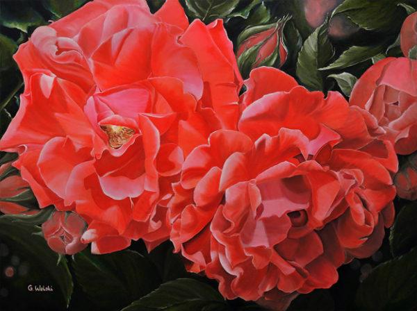Garden Memories by Grazyna Wolski