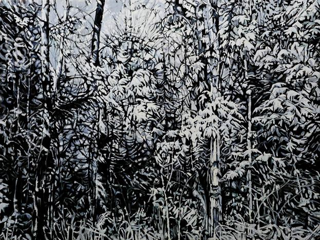 Grey Landscape by Camille Sleeman