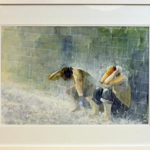 In the Rain by Winnie Lo