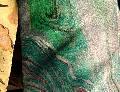 painted ties by Seema Zaidi