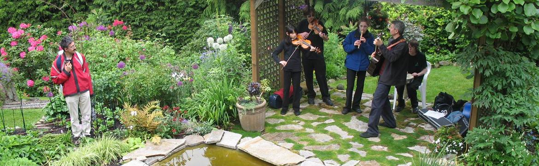 Celtic Ensemble at Art in the Garden
