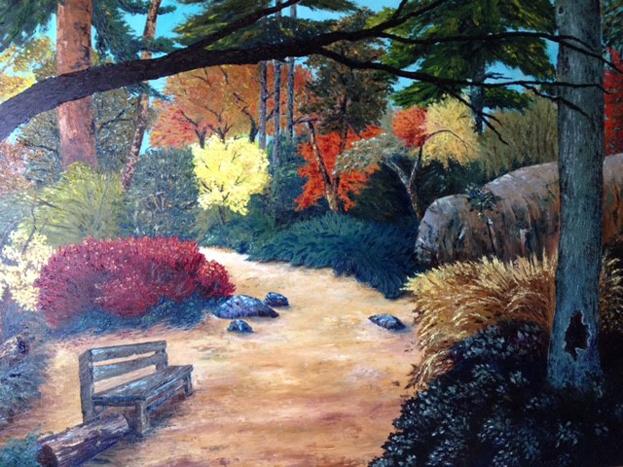 Forest LIghts by Celinda Stevens,