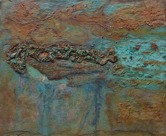 Copper Emerging by Monica Gewurz